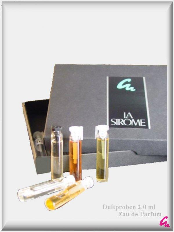 5 La Sirome Duftproben nach Wunsch